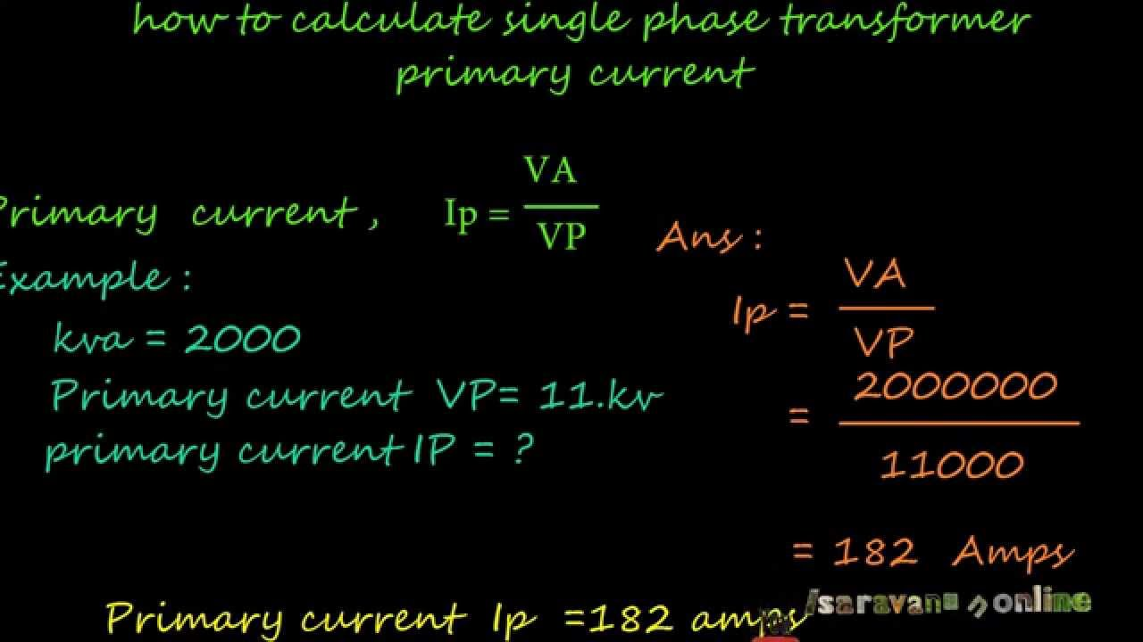 3 phase motor amps calculation impremedia how to calculate single phase transformer full load primary current youtube keyboard keysfo Gallery