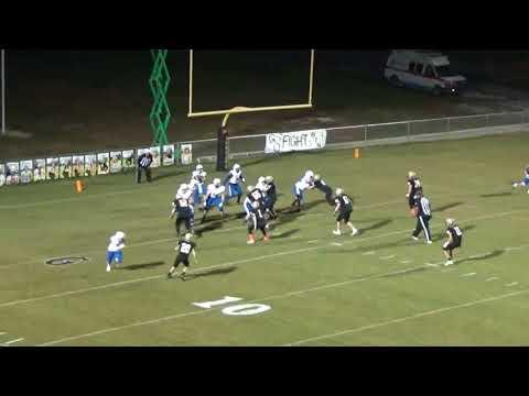 Hatton High School 99 yard touchdown