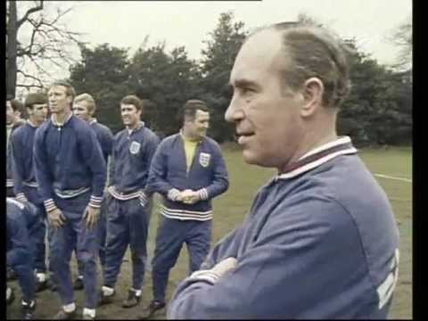 Sir Alf Ramsay - England Soccer Team Manager