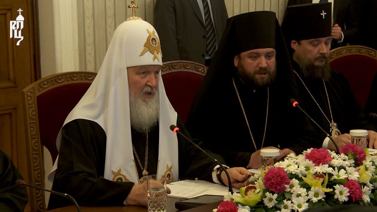 Патриарх Кирилл преподал урок истории Болгарии
