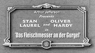 Baixar Laurel & Hardy - Das Fleischmesser an der Gurgel (1927) [HD]
