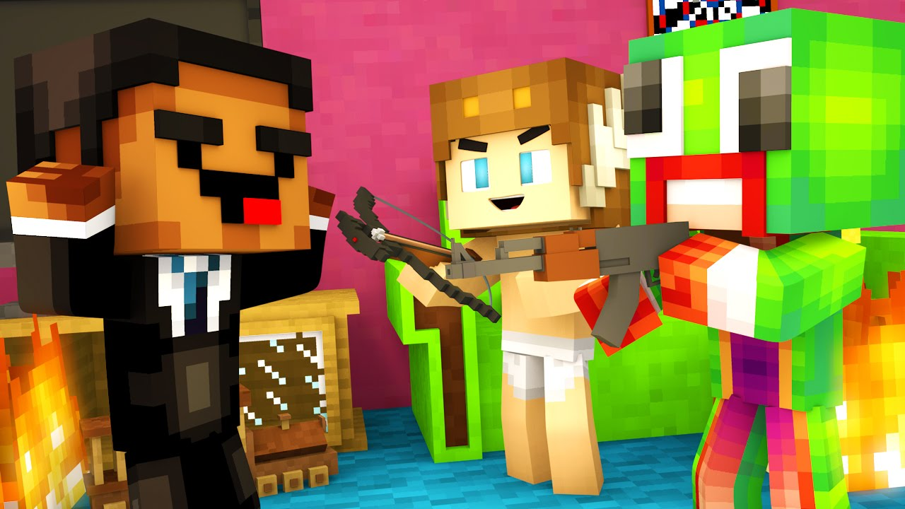 Minecraft Daycare - THE PURGE AGAIN !?