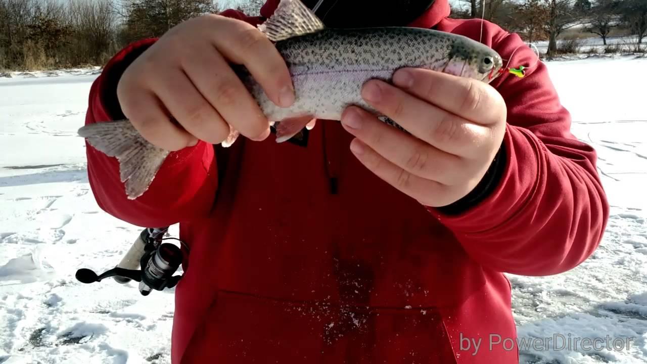 Ice fishing nebraska youtube for Ice fishing nebraska