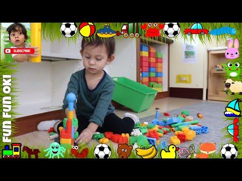 &100 LEGO Lego Play Game ; Ideas to Bring Your Bricks to Life \ Lego VIDEOS for kids | FUN FUN OKI