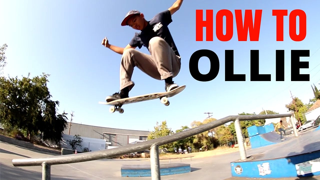 How To Ollie(higher)
