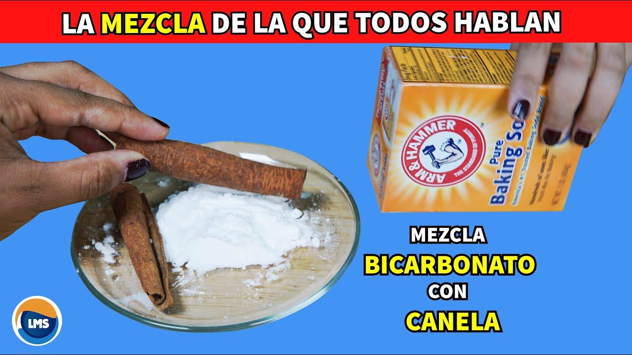 Mezcla BICARBONATO con CANELA y te Prometo que NO VOLVERAS a Usar Otra Receta