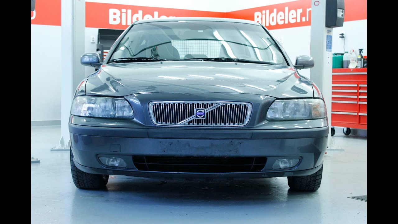 Volvo S60/V70: Hvordan bytte bremser og håndbrekk bak - 2000 til 2007 mod. - YouTube
