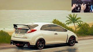 Forza Horizon 3 GoPro - Racha de Honda Civic Type-R 2016
