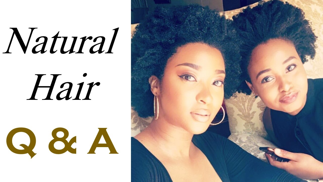 NATURAL HAIR Q&A | with FEZOKUHLE ZULU