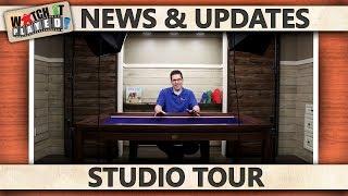 News (2017-03-28): Studio Tour