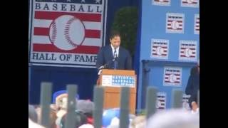 Mike Piazza Complete Baseball Hall of Fame Induction Speech