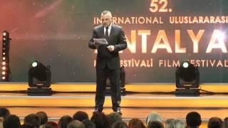 52 Antalya Film Festivali Kapanış ve Ödül Töreni