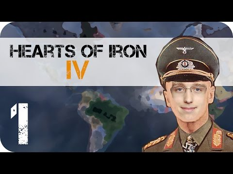Hearts of Iron IV: E1 A New Reich