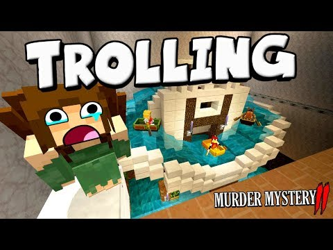 PULLING PRANKS AND ANNOYING EVERYONE !! : Minecraft Murder Mystery 2 [11]