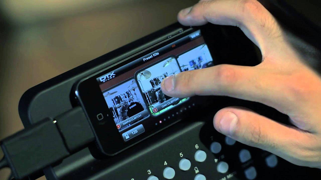 Yamaha Dtxk Ipad App