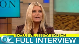 Jessica Simpson Tells All About Her Life in an Exclusive Interview With Dr. Oz