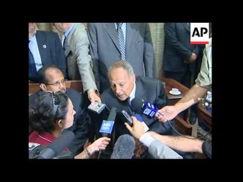 WRAP Moussa meets Lahoud, Egyptian FM comments, more arrivals