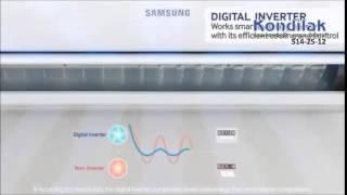 Настенный кондиционер Samsung AR09HSSFRWK/ER. Видео обзор. 3sams2(Новые кондиционеры Samsung 2014 серия AR с треугольным дизайном! рекламный ролик Информационное видео для модел..., 2015-02-02T17:00:34.000Z)