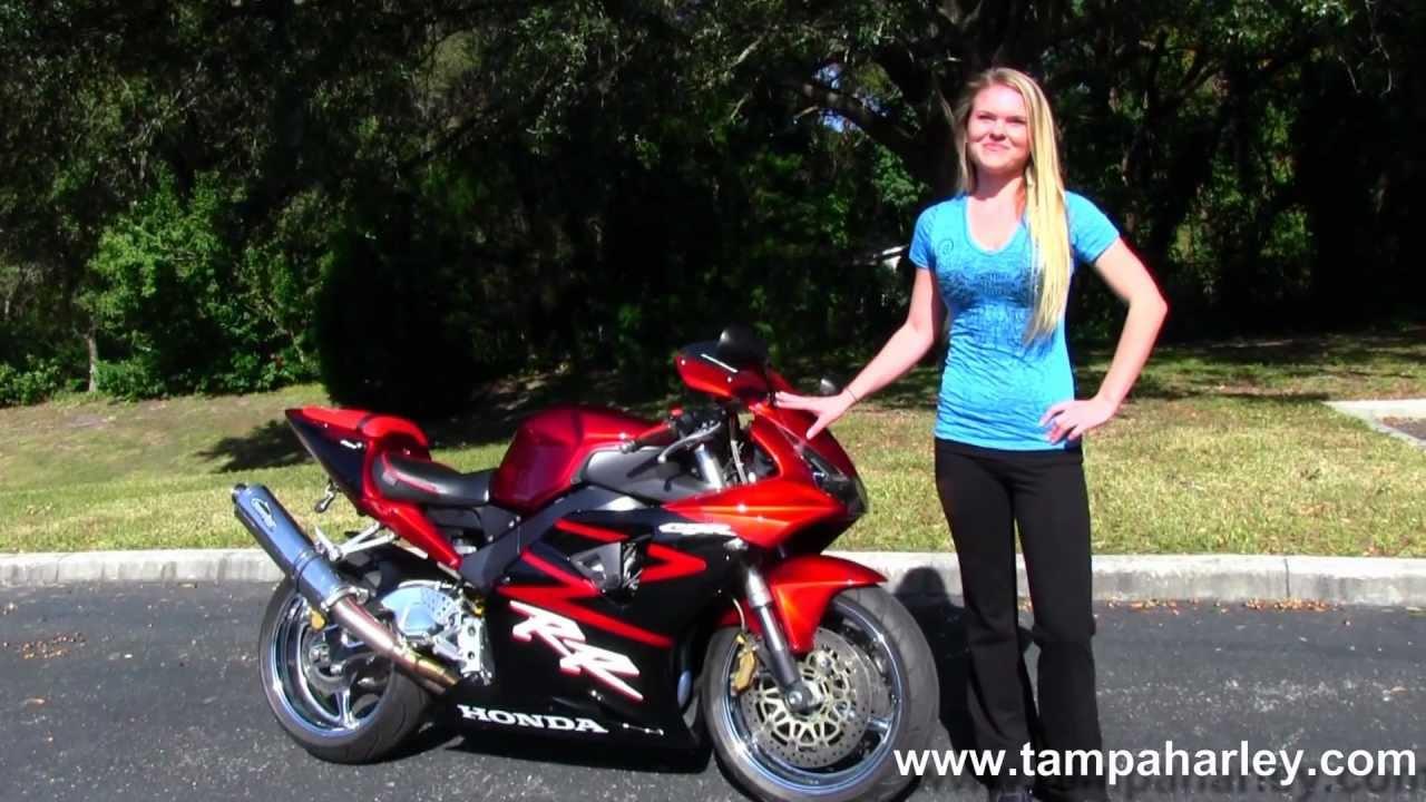 Used 2002 Honda Cbr954rr Motorcycles For Sale Youtube Cbr Headlight T Shirt
