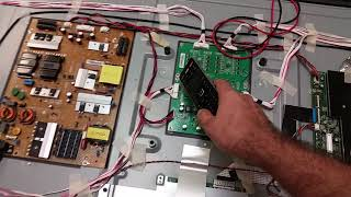 Troubleshooting Vizio P502UI-B1E no image / no lights and 756TXECB0TK004 functionality proof