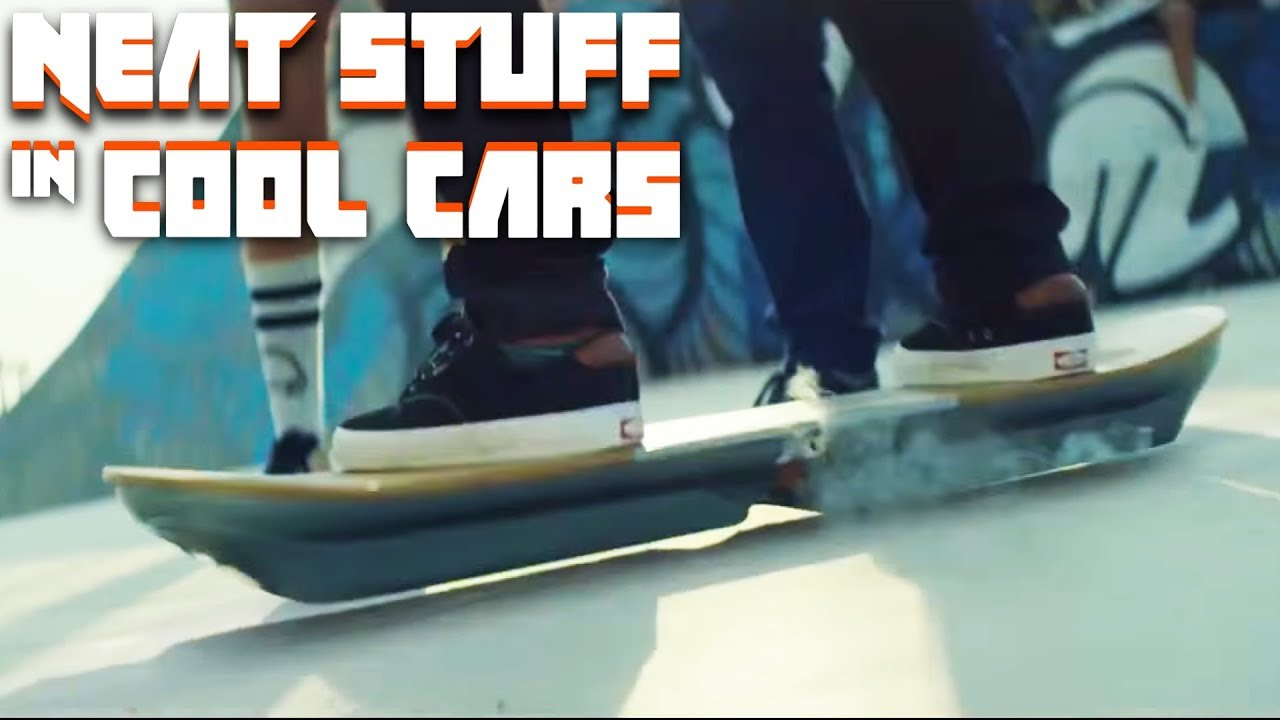 The Lexus Hoverboard Is Real And We Rode It | Neat Stuff in Cool Cars