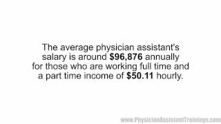 Average Physician Assistant's Salary