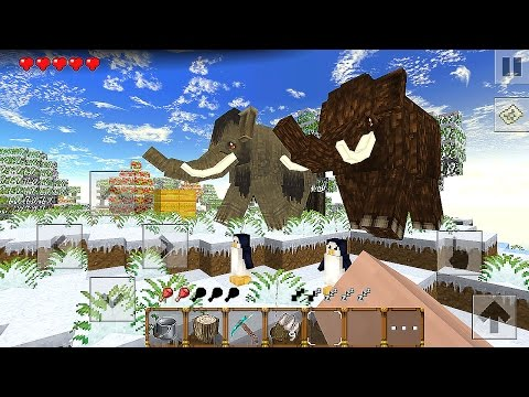 Winter Craft 4: Ice Age - Gameplay Android