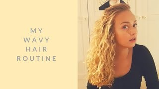 Wavy Hair Routine // Curly Girl Method