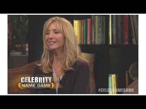 Learn Slang with Lisa Kudrow & Courteney Cox | Celebrity Name Game