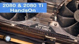 NVIDIA RTX 2080 & 2080 Ti - EVGA HandsOn & Specs