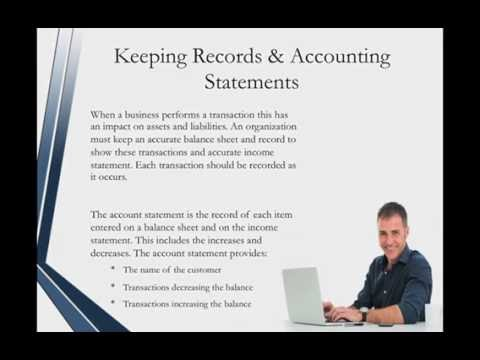 Administrative Assistant Certification – Accounting and Bookkeeping Services