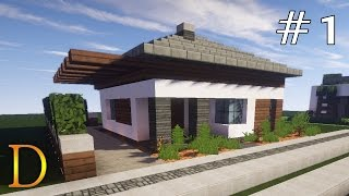 Minecraft Jak Zrobic Ladny Domek How To Build A Nice House 3