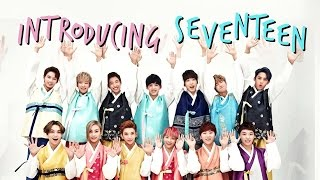 INTRODUCING SEVENTEEN (Members, Inside Jokes, Ships, ETC.)