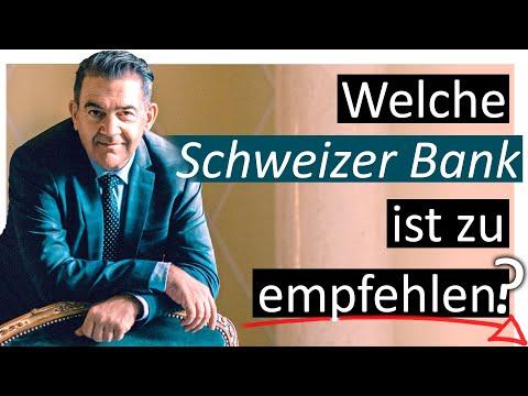 Welche Schweizer Bank Ist Zu Empfehlen Youtube