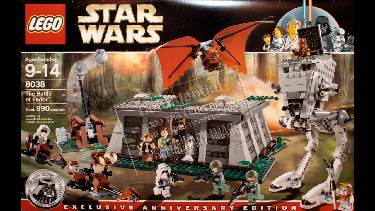 lego star wars 8038 the battle of endor review deutsch. Black Bedroom Furniture Sets. Home Design Ideas