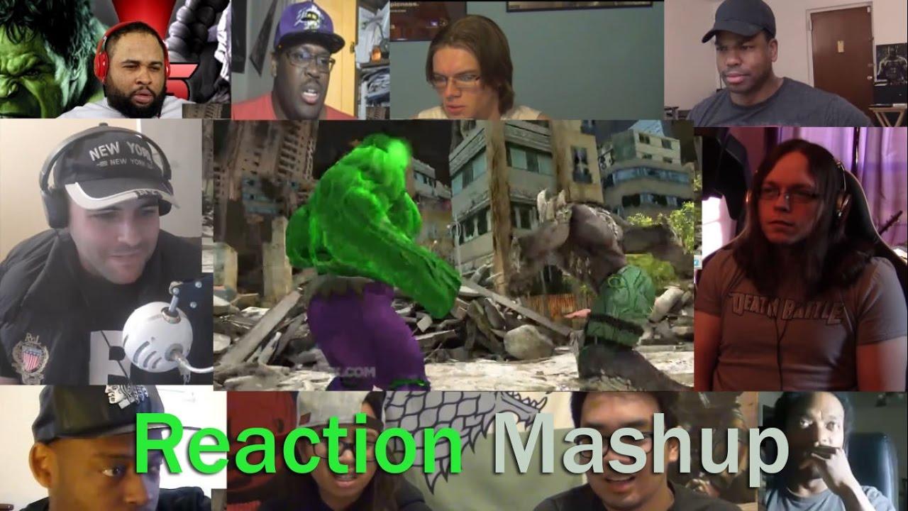 HULK VS DOOMSDAY DEATH BATTLE REACTION MASHUP - YouTube Doomsday Vs Hulk Death Battle Reaction