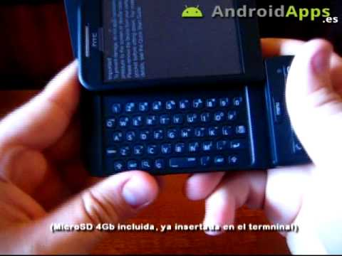 HTC Dream Unboxing