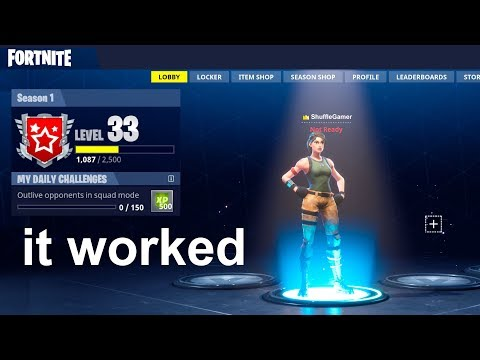 HOW TO PLAY SEASON 1 IN FORTNITE!