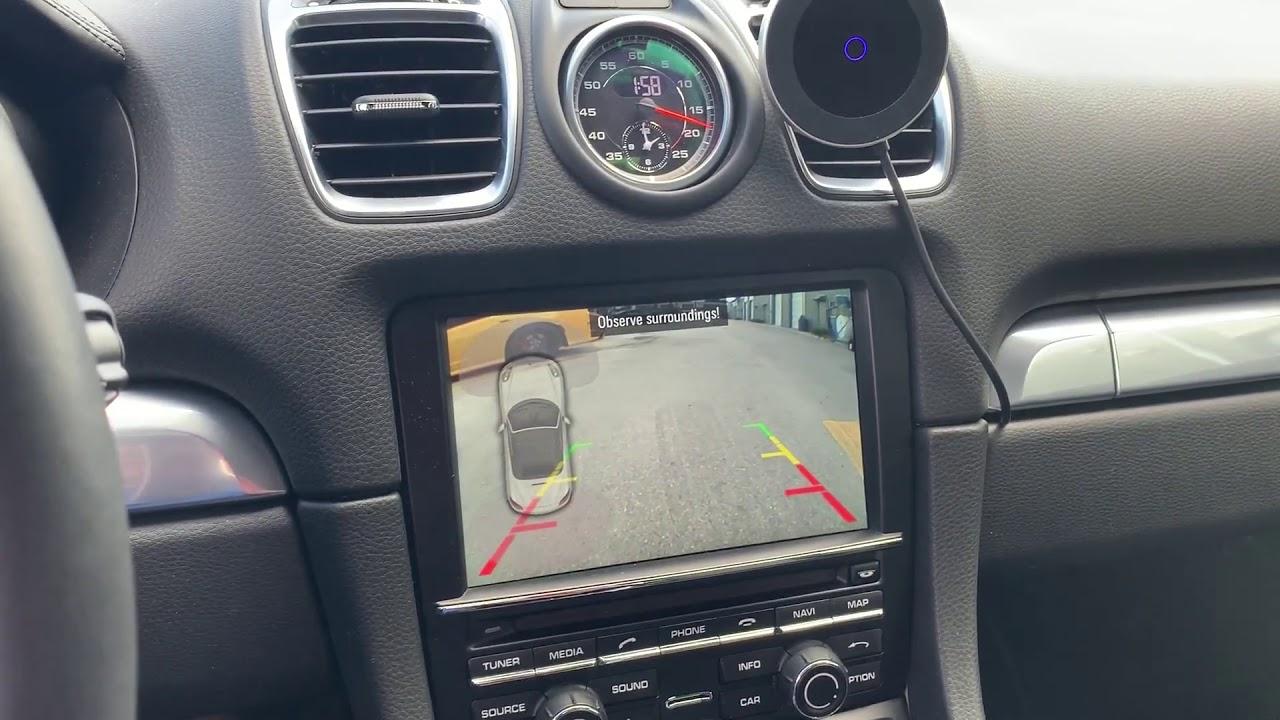 Porsche Backup Camera Kit for PCM 3 1 Boxster Cayman Carrera