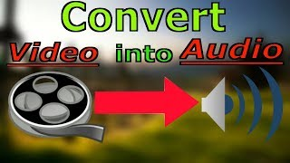How to convert video into mp3 audio format in pc window 7 using VLC Mendi dia Player in hi2018