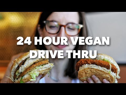24 Hour Vegan Drive Thru | Globally Local