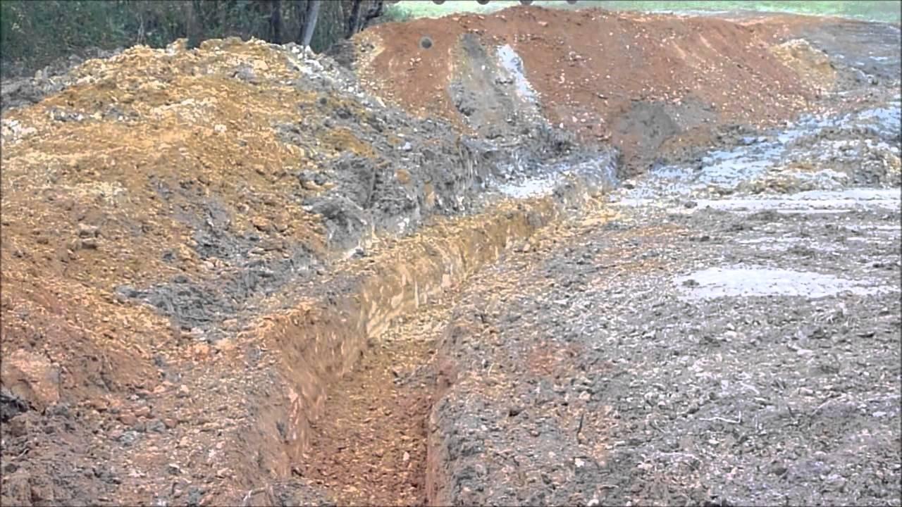 2 Acre Pond Construction : Building a acre pond part youtube