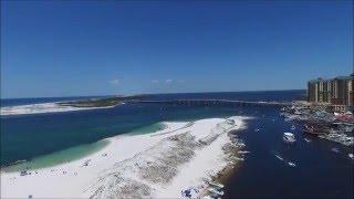 Beaches of Destin and Ft Walton Beach, FL 2016