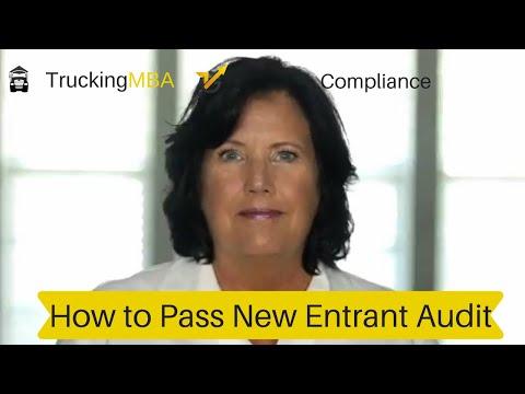 New Entrant Safety Audit - Dot Safety Audit - DOT Audit