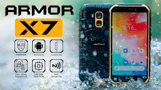 UlefoneArmorX7: Защищённый смартфон с NFC за $79
