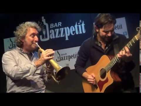 Andreu Martinez & Matthew Simon en el Jazzpetit en Enero del 2014