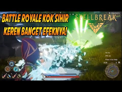Battle Royale Kok Harry Potter (Adu Sihir) - Spellbreak - 동영상