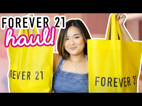 FOREVER 21 TRY ON HAUL + GC GIVEAWAY!
