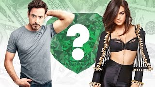 WHO'S RICHER? - Robert Downey Jr. or Lucy Hale? - Net Worth Revealed!