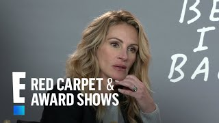 Julia Roberts & Lucas Hedges Discuss Playing Mother & Son   E! Red Carpet & Award Shows